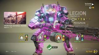 Titanfall 2 Frontier Defense First Frontier Veteran Insane almost Flawless