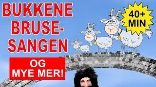 Barnesanger på norsk - Bukkene Bruse og mye mer | 40+ min.