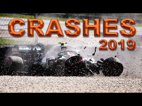 F1 2019 ALL Crashes & Mistakes