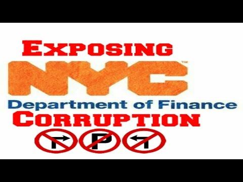 Nyc Department Of Finance Corruption