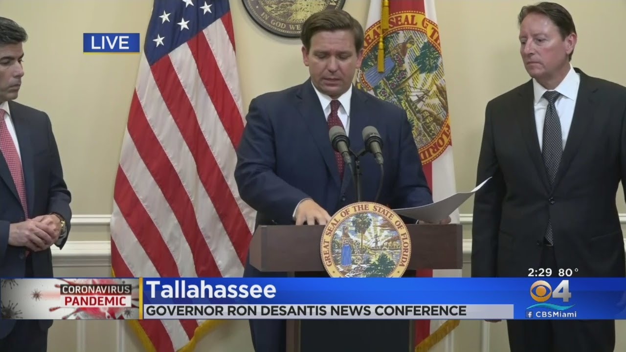 WEB EXTRA: Florida Governor Ron DeSantis Updates State On ...