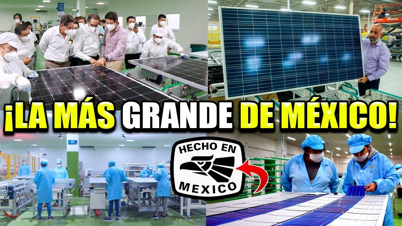 EMPRESA MEXICANA FABRICARÁ PANELES SOLARES EN COLIMA PARA MÉXICO Y EL MUNDO