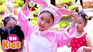 Liên Khúc Thỏ Mèo, Ba Bà Đi Bán Lợn Con - Nhạc Thiếu Nhi Vui Nhộn Hay Nhất Bé Ăn Ngon