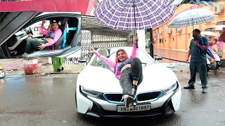 Is That...! Are You Serious.. ! BMW i8...