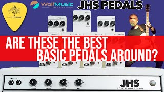 JHS 3 Series Pedals: Are These The Best Basic Pedals Around? (with TIMESTAMPS for each pedal!)