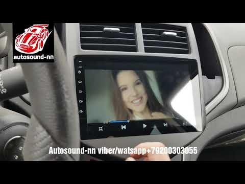 """Штатная Магнитола DS Chevrolet Aveo 9""""(8 ядер 2/32)android 8.1"""