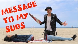 IMPORTANT MESSAGE to my Subscribers! -Julien Magic