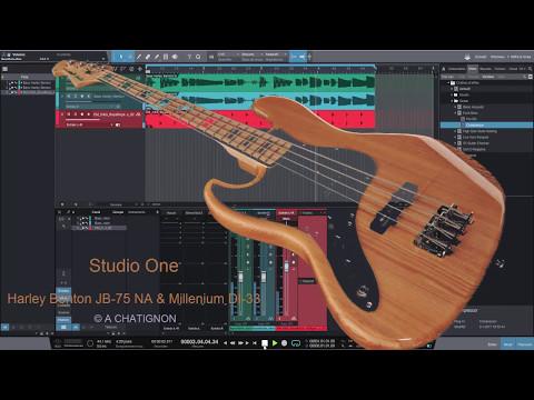 Harley Benton JB75 and Studio One