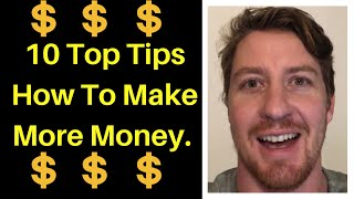 10 ways to make money.