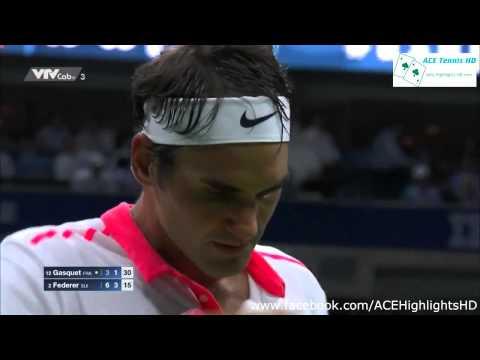 Roger Federer vs Richard Gasquet US OPEN 2015