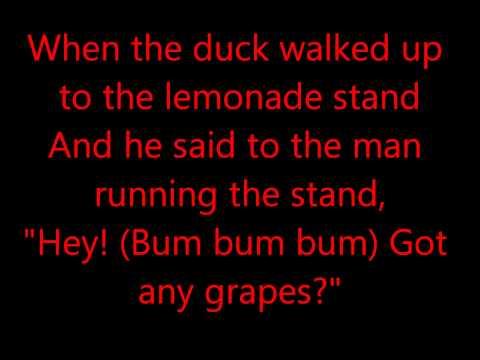 The duck song Lyrics!