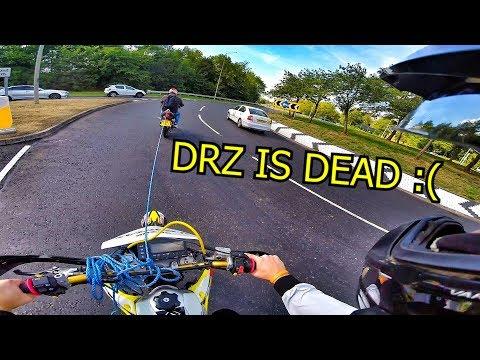 BIKE BREAKS DOWN IN MIDDLE OF THE UK!!