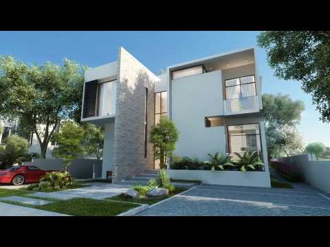 Dubai Luxury Villas Architectural CGI fly-through