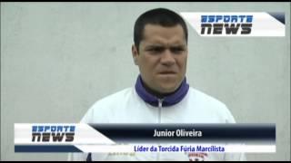 SONORA LIDER DA TORCIDA FURIA MARCILISTA SOBRE APEDREJAMENTO TORCEDOR AVAI