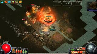 Patch 2.0 Mud Geyser Map Boss Guide lvl 70 - Path Of Exile