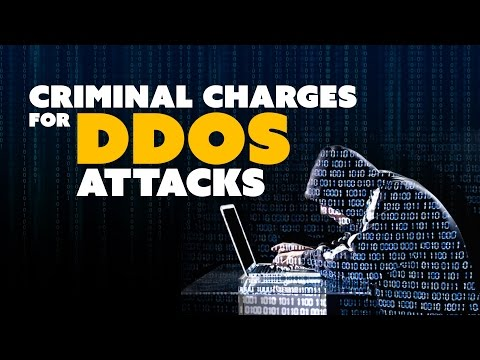 Criminal Charges for Gaming DDoS Attacks! - The Know