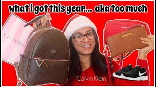 HUGE What I Got for Christmas Haul 2018! (LUXURY, kinda spoiled...)