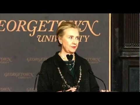 Secretary Clinton Comments on Clean and Efficient Energy