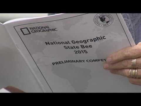 Local students take part in National Geographic State Bee