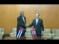 DPRK-Cuba Inter-governmental Protocols Signed