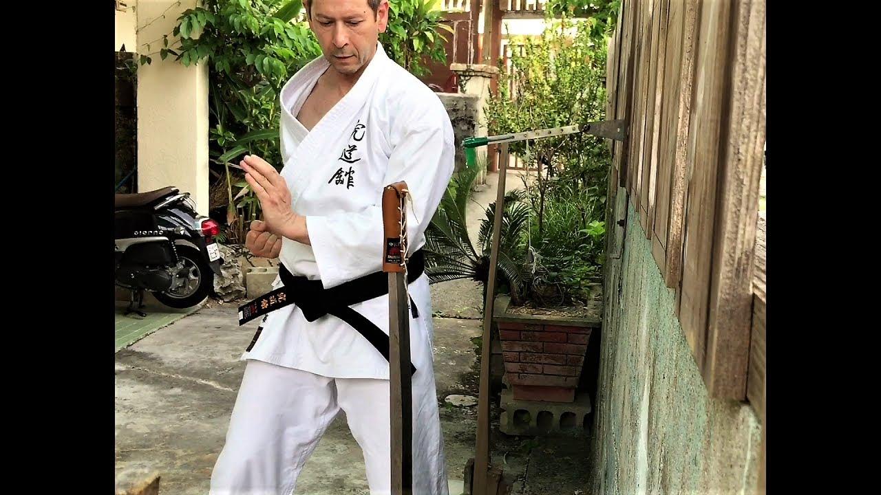 Resultado de imagen de makiwara solo practice