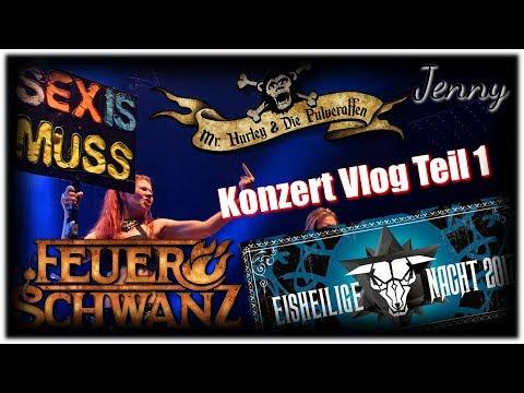 Eisheilige Nacht 2017 - Konzert Vlog Teil 1 // Simply Jenny