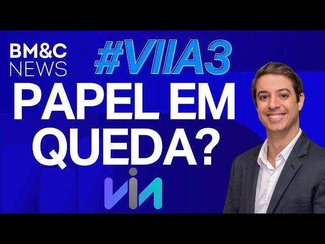 #VIIA3: Ações caem mais de 6% nesta segunda-feira, Lucas Claro analisa