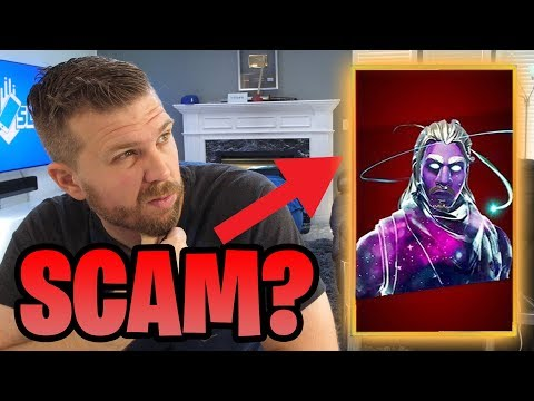 Is Galaxy Skin a SCAM? How I FINALLY Got the Skin + 15,000 V-Bucks!