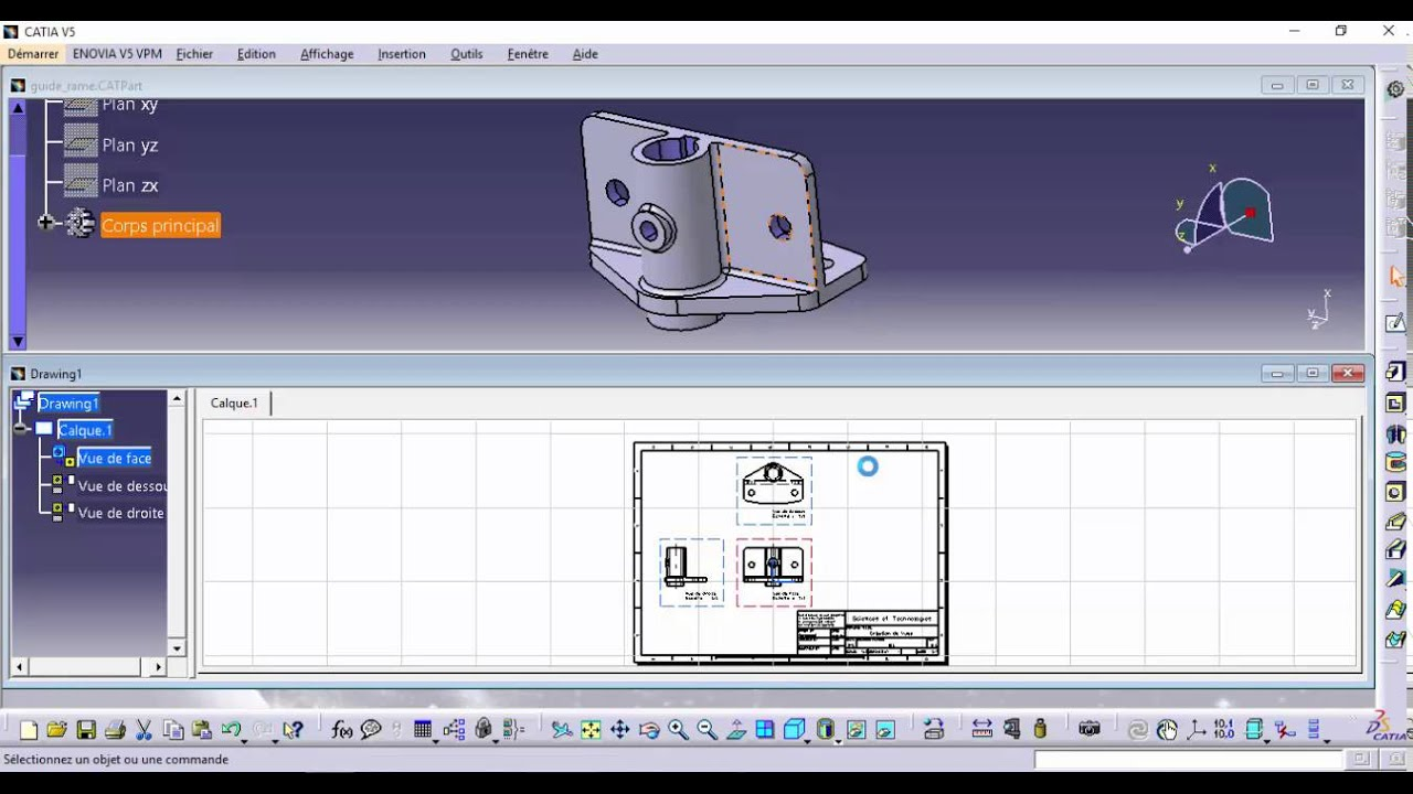 All SWEEP surface commands in CATIA V5