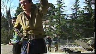 Боевые действия в  Гаграх в 1992г ,оборона и отступление.