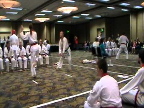 2011 region 5 soo bahk do tournament red belt forms