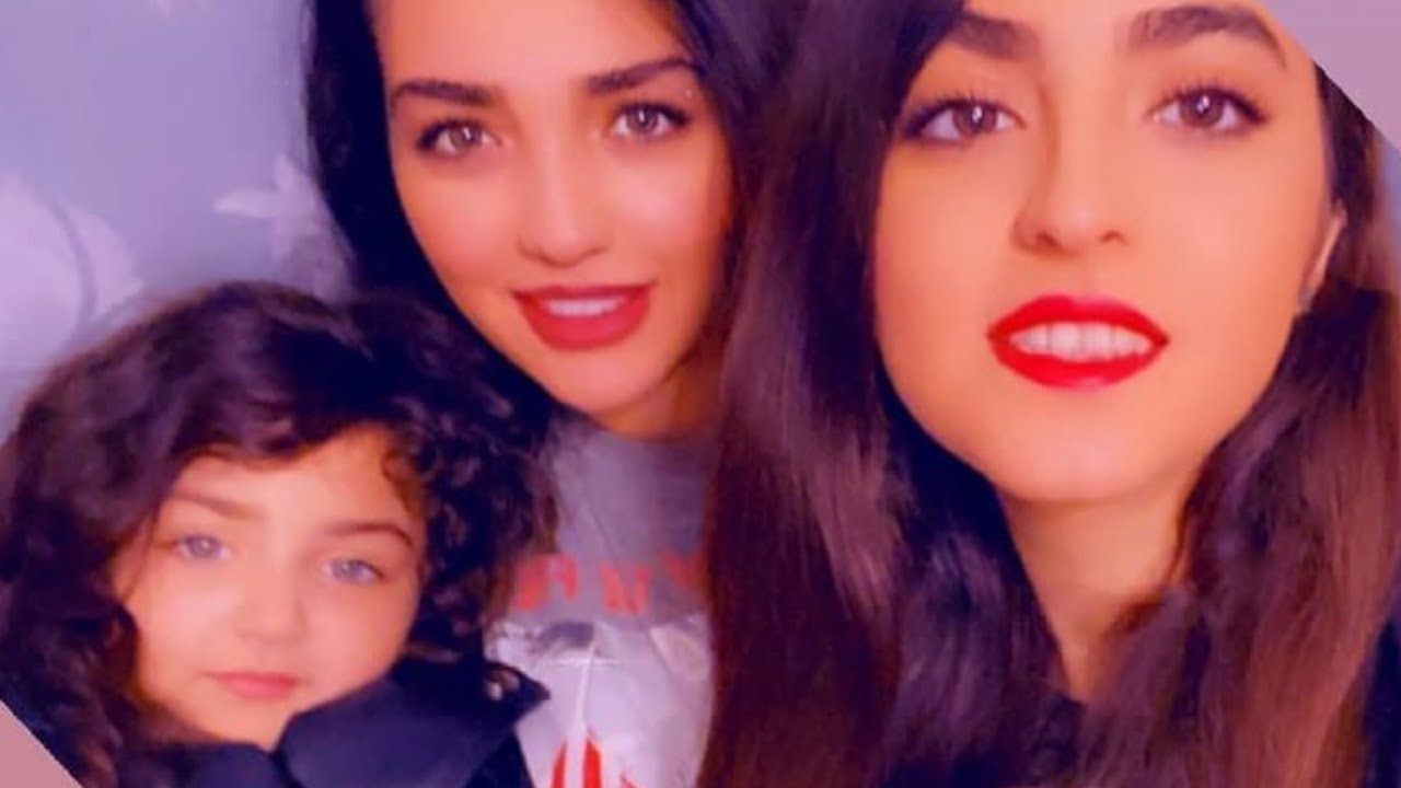 Anahita With Her Mother And Negin | #shorts | Anahita Mother | Anahita Family | Anahita Hasheminejad