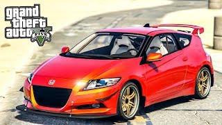 เทคเปิดโลกเปลี่ยน (Honda CR-Z GTA V Mod)