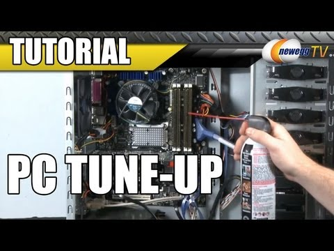 Newegg Tutorial: PC Tune-Up – Cleaning and Basic Upgrades