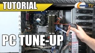 Newegg Tutorial: PC Tune-Up - Cleaning and Basic Upgrades