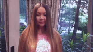 Брондирование  на  длинные темные волосы