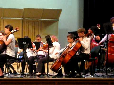 Harpers Choice Middle School Strings Performance