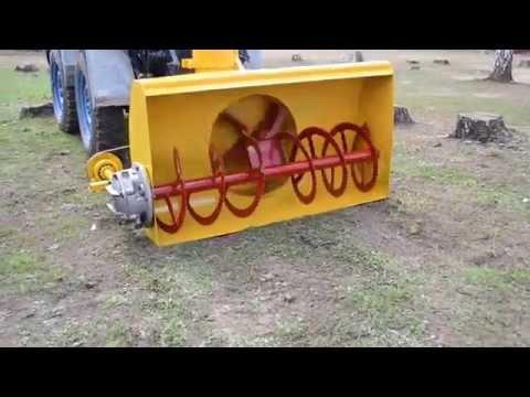 МТЗ-82 шнекоротор Minsk Tractor MTZ-82 vs snow