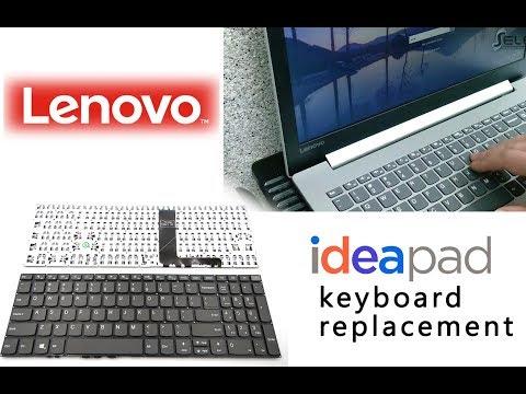 Lenovo Ideapad 320 Keyboard Replacement \ Wymiana klawiatury laptop Lenovo