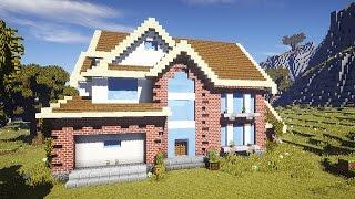 ЗАГОРОДНЫЙ ДОМ В МАЙНКРАФТ - ч 5 - Minecraft - Строительный креатив 3(, 2016-08-30T09:00:00.000Z)