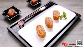 蔬食 素食 創意點心【南瓜Q捲餅 】ღ開心料理