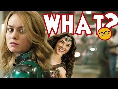 Captain Marvel Creator Thought Wonder Woman Was Better. Skrulls Were Mushy