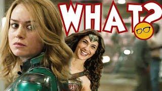 Captain Marvel Creator Thought Wonder Woman Was Better. Skrulls Were 'Mushy