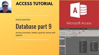 Erstellen Sie eine Access-Datenbank, Teil 9, Tabellen, Abfragen, Formulare und Berichte