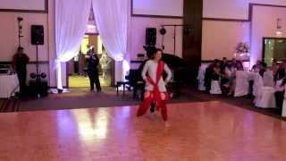 Bhangra and Bollywood dance for Reception