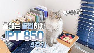 [공부 브이로그] 일어일문학과, 독학으로 JPT 850…