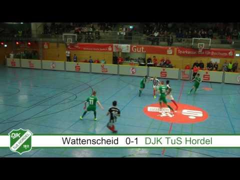 Hallenmasters 2017: SG Wattenscheid 09 - DJK TuS Hordel,  14.1.2017