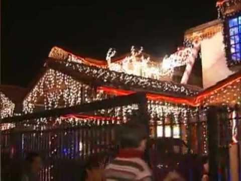 Casas adornadas por navidad maip youtube - Casas decoradas en navidad ...