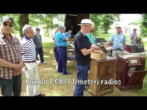 New Jersey Antique Radio Club Summer Swap Meet 2018