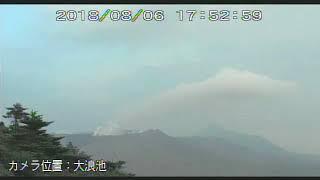 6/8/2018 WITA - Mt Shinmoedake 新燃岳 TimeLapse